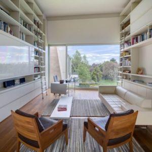 salon secondaire & bibliothèque - Club-Residence par Migdal Arquitectos - Mexico, Mexique