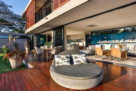 salon terrasse - Aloe Ridge House par Metropole Architects - Kwa Zulu Natal, Afrique du Sud