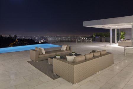 salon terrasse - Carla Ridge par McClean Design - Beverly Hills, Usa