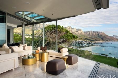 salon terrasse - Clifton 2A par Saota - Le Cap, Afrique du Sud