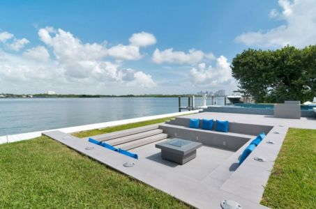 salon terrasse - Gross-Flasz Residence par One d+b Miami - Harbor Island, Usa
