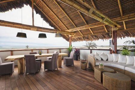 salon terrasse - House in Playa del Carmen par YUPANA Arquitectos - Chincha Alta, Pérou
