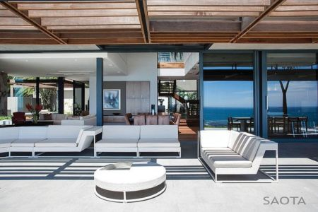 salon terrasse - Kloof 151 par SAOTA - Clifton, Afrique du Sud