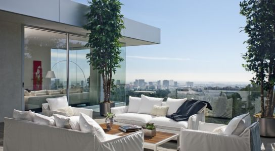 salon terrasse - Sarbonne par McClean Design - Los Angeles, Usa