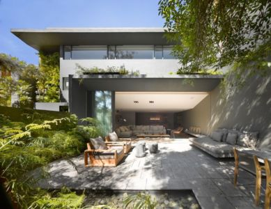 salon terrasse design - Barrancas House par Ezequielfarca Architecture & Design - Mexico, Mexique