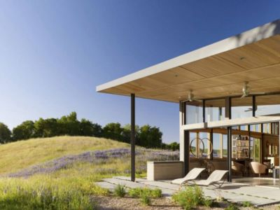 salon terrasse design - Caterpillar- House par Feldman Architecture - Californie, USA