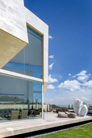 salon terrasse design - Club-Residence par Migdal Arquitectos - Mexico, Mexique