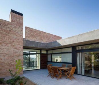 salon terrasse design - House-Molino par Mariano Molina Iniesta, Espagne