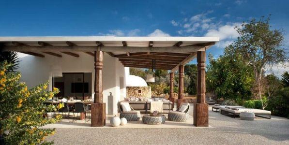 salon terrasse design - Ibiza-House par TG-Studio - île-Ibiza, espagne