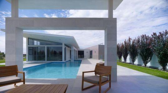 salon terrasse design - Piccoli Residence par  Casalgrande Padana Spa - Indiana, USA