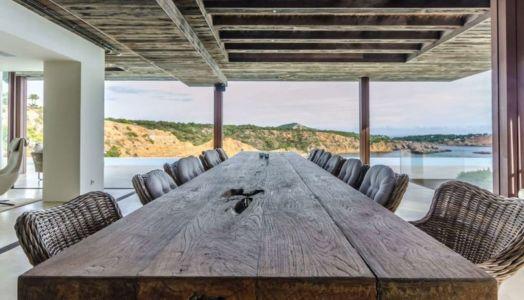 salon terrasse design - Stunning-Villa par Villa Majestic - Ibiza, Espagne