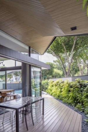 salon terrasse design - Trevose-House par Ad-Lab - Singapour