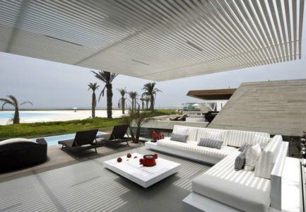 salon terrasse design - casa-v par Estudio 6 Arquitectos - Perou