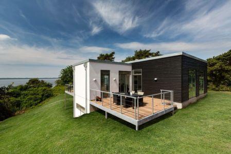 terrasse et panorama - maison exclusive par Skanlux - Danemark