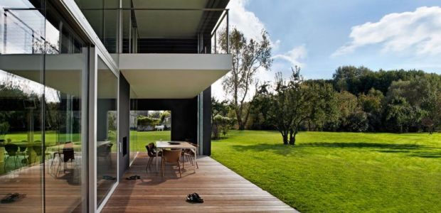 salon terrasse design - safe-house par Robert Konieczny – KWK Promes - Varsovie, Pologne