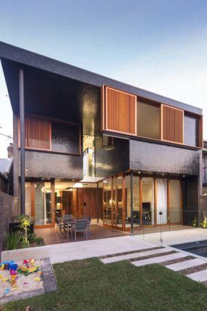 salon terrasse design - spiegel-haus par Carterwilliamson Architectes - Sydney, Australie
