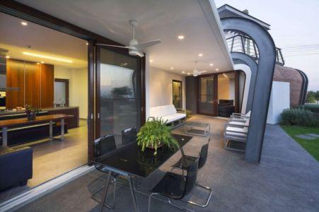 salon terrasse design - tsikkinis par Tsikkinis Architecture Studio - Limassol, Chypre