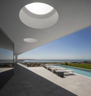 salon terrasse design - zauia-house par mario martins atelier - Val da Lama, Portugal