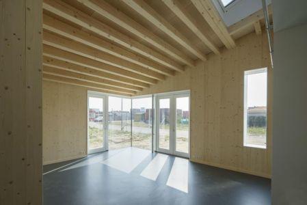 pièce de vie - Biobased-Living-Concept par DDacha - Pays-Bas