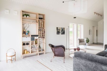salon - villa-vallmo par Thomas Sandell - Skaraborg, Suède