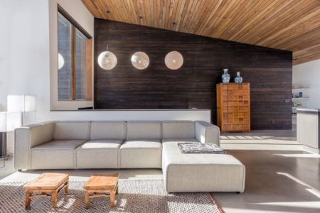 salon - wood-clad-home par ParkCity Design - Utah, USA