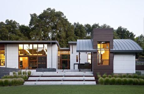 Saratoga creek house par Wa-design - Saratoga, USA   + d'infos