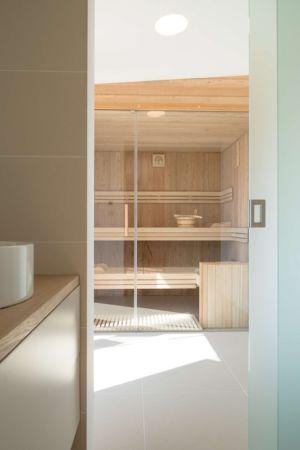 sauna - Maison bois par BIRO GASPERIC - Velesovo, Slovenia
