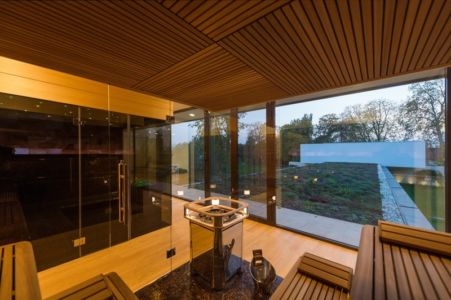 sauna - Villa M par Oliver Grigic - Cepin, Croatie