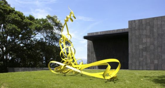 sculpture jardin - Casa Altamira par Joan Puigcorbé - Costa Rica