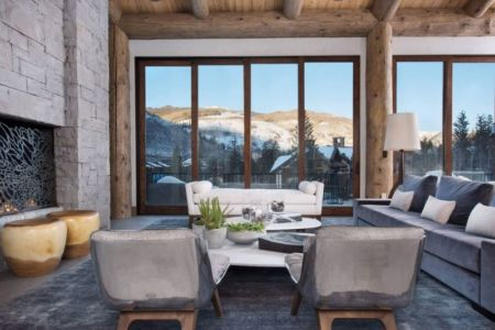 seconde partie salon - Vail-Ski-Haus par Read Design Group - Vail, USA