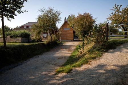 sentier accès - ladaa par JKA Jérémie Koempgen Architecture - Craon, France