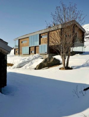 façade maison bois - Cozy-Wooden-Cottage par JVA - Oppdal, Norvège