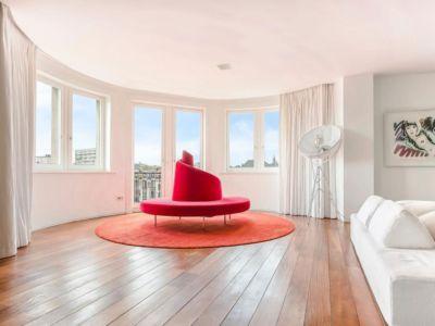 sofa et vue panoramique - vue à 360 degrés - Bruxelles, Belgique