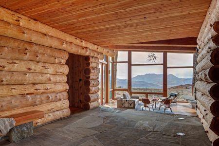 sol en pierre - Wolf Creek Ranch par S+D Architects - Utah, Usa