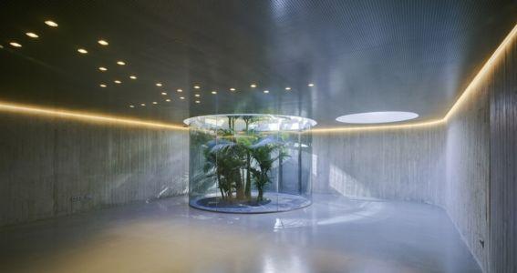 sous sol - Maison 4 en 1 par Clavel Arquitectos - Guadalupe, Espagne - photo David Frutos