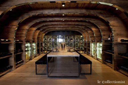 splendide cave à vins - Chalet Carl à louer à Oberlech en Autriche - Le Collectionist