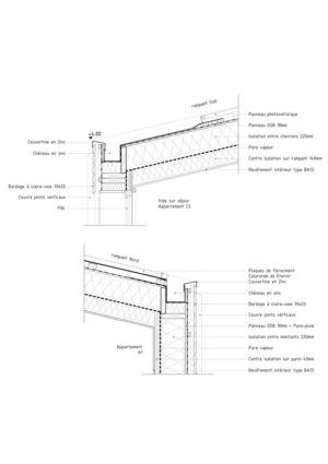 système constructif - Etoile Noire par  Angélique Chedemois Architect - Guérande, France
