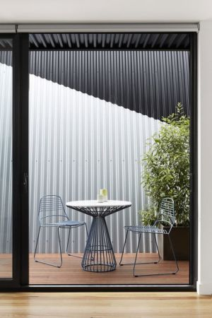 table terrasse - Hunter Street Home par ODR Architects - Australie