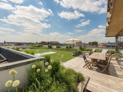 table terrasse - vue à 360 degrés - Bruxelles, Belgique