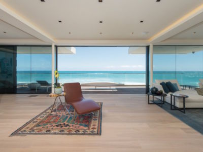 tapis salon - villa contemporaine à Malibu, Usa