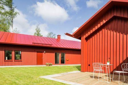 terrasse salon & jardin - villa-vallmo par Thomas Sandell - Skaraborg, Suède