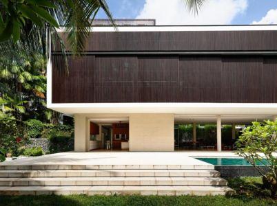 terrasse - 59BTP House par ONG&ONG - Singapour