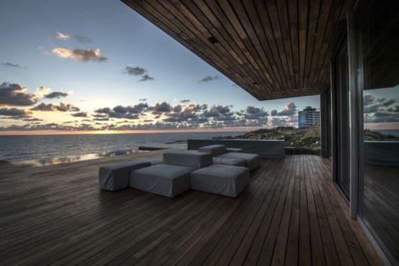 terrasse - Amchit résidence par Blankpage architects -Liban