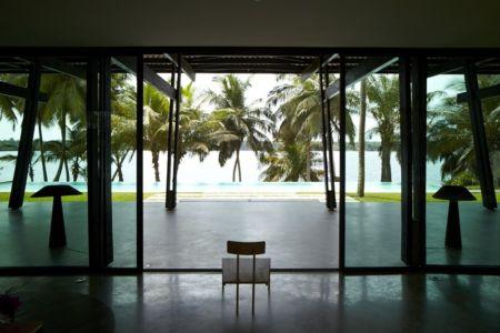 terrasse - Bambou pavillion par Koffi Diabat architectes - Assinie-Mafia, Côte d'Ivoire
