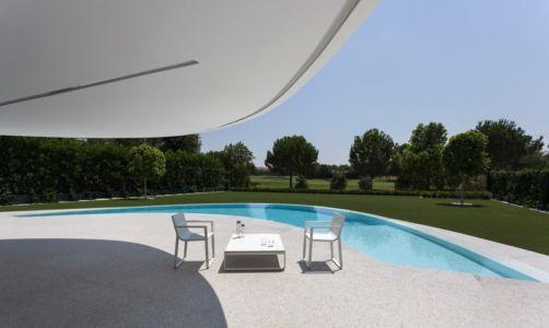 terrasse - Casa Balint par Fran Silvestre Arquitectos - Valence, Espagne