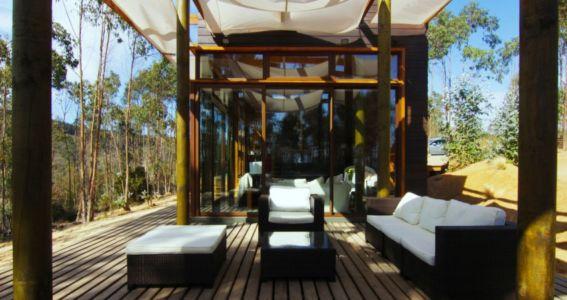 terrasse - Casa Tunquén par CO2 Arquitectos - Vaparaiso, Chili