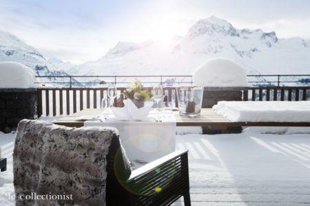 terrasse - Chalet Carl à louer à Oberlech en Autriche - Le Collectionist