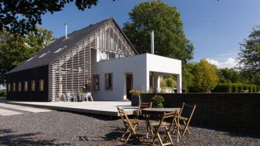 terrasse - Donderen Barnhouse par aatvos - Donderen, Pays-Bas