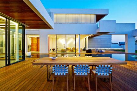 terrasse - Five Star Caesarea Dream Home par Gal Marom Architects - Israel