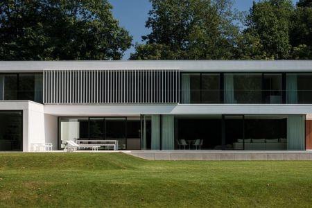 terrasse - HS Residence par Cubyc Architects - Bruges, Belgique